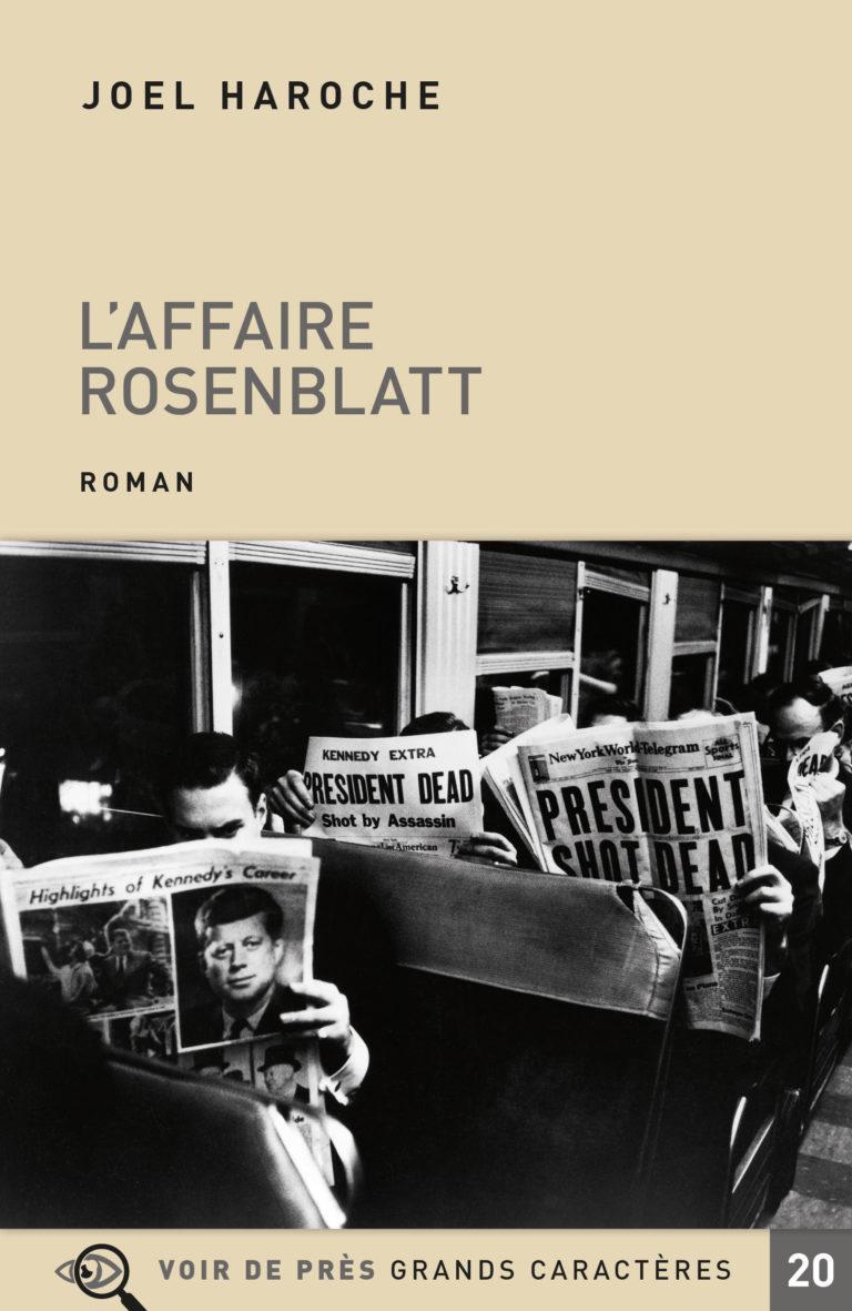 Couverture de l'ouvrage L'Affaire Rosenblatt
