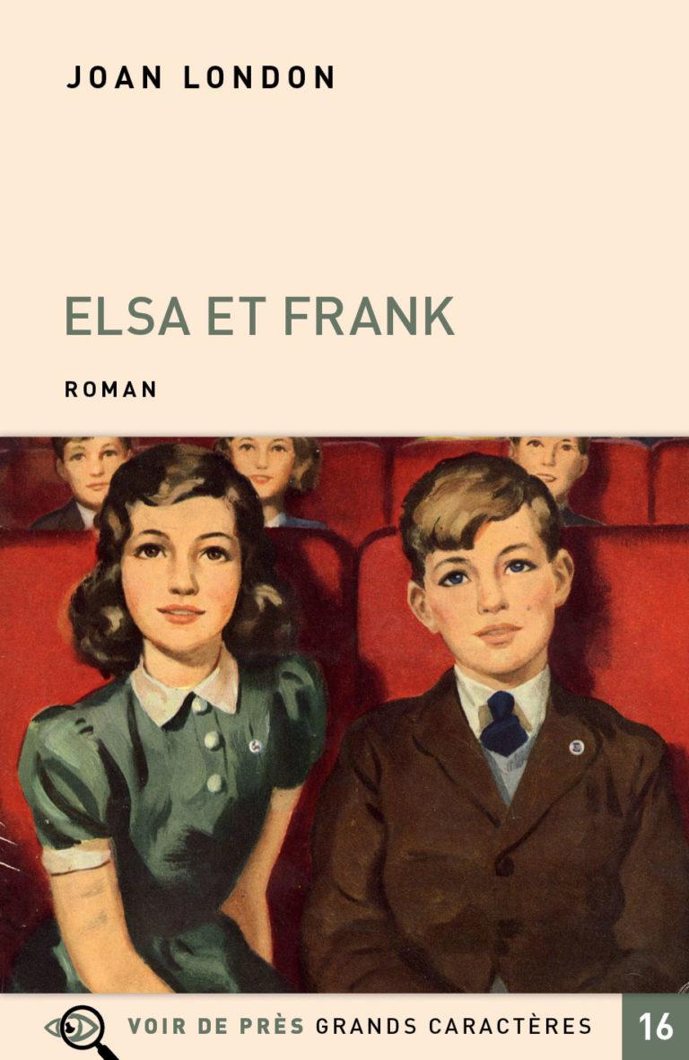 Couverture de l'ouvrage Elsa et Frank