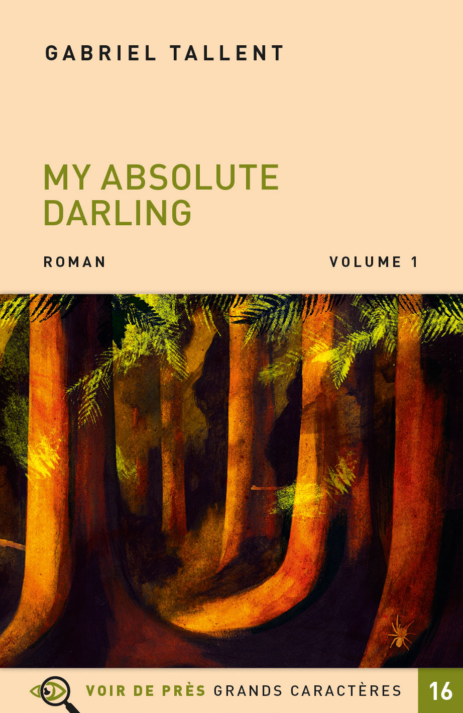 Couverture de l'ouvrage My Absolute Darling