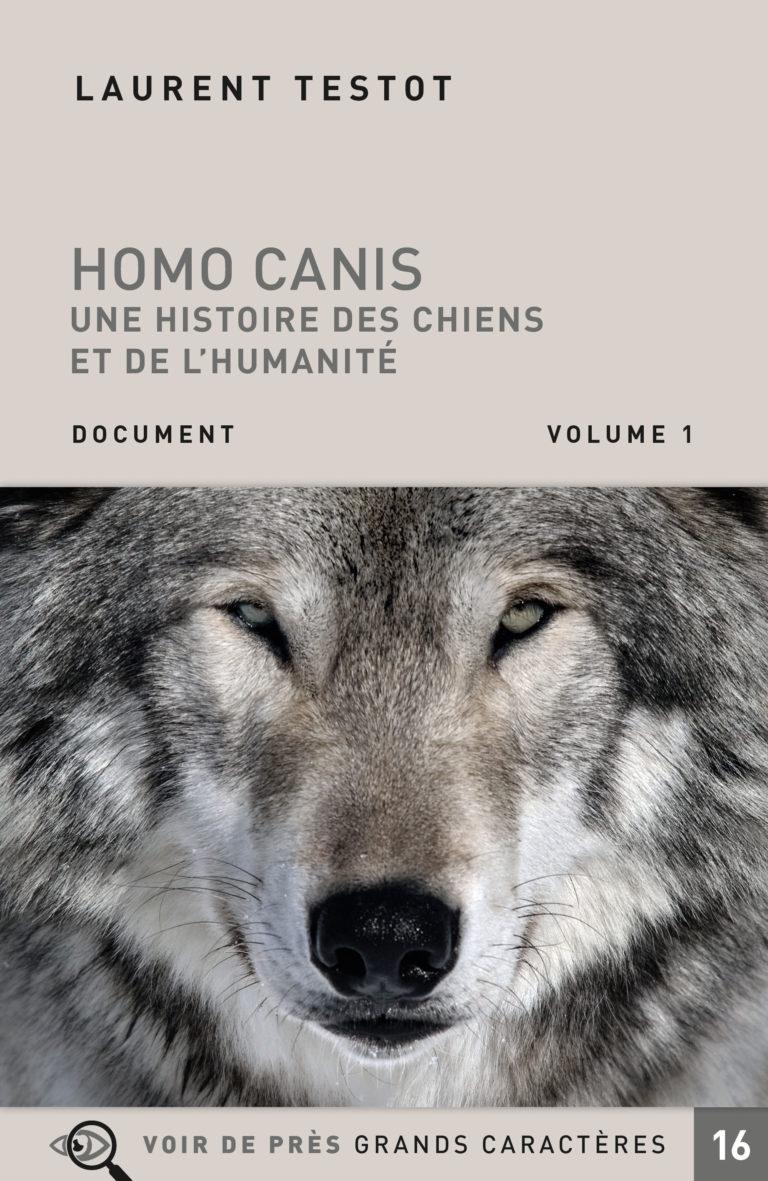 Couverture de l'ouvrage Homo Canis