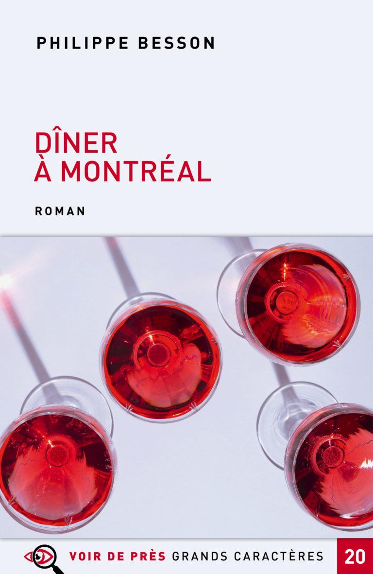 Couverture de l'ouvrage Dîner à Montréal