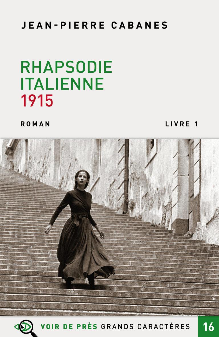 Couverture de l'ouvrage Rhapsodie italienne 1915
