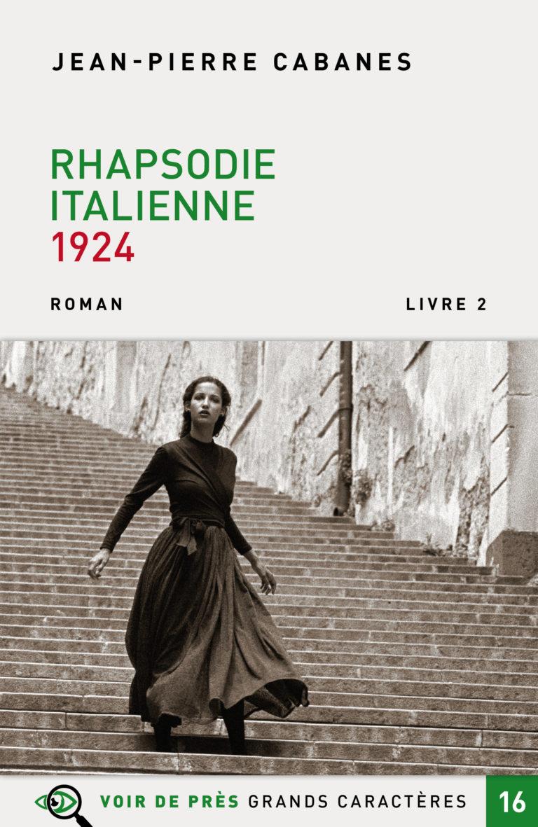 Couverture de l'ouvrage Rhapsodie italienne 1924