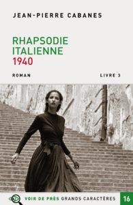 Couverture de l'ouvrage Rhapsodie italienne 1940