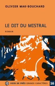 Couverture de l'ouvrage Le Dit du Mistral
