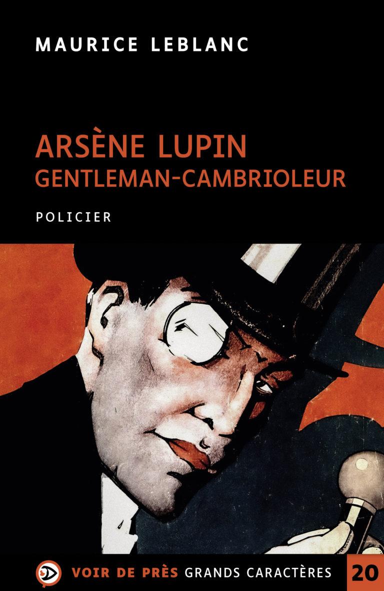 Couverture de l'ouvrage Arsène Lupin