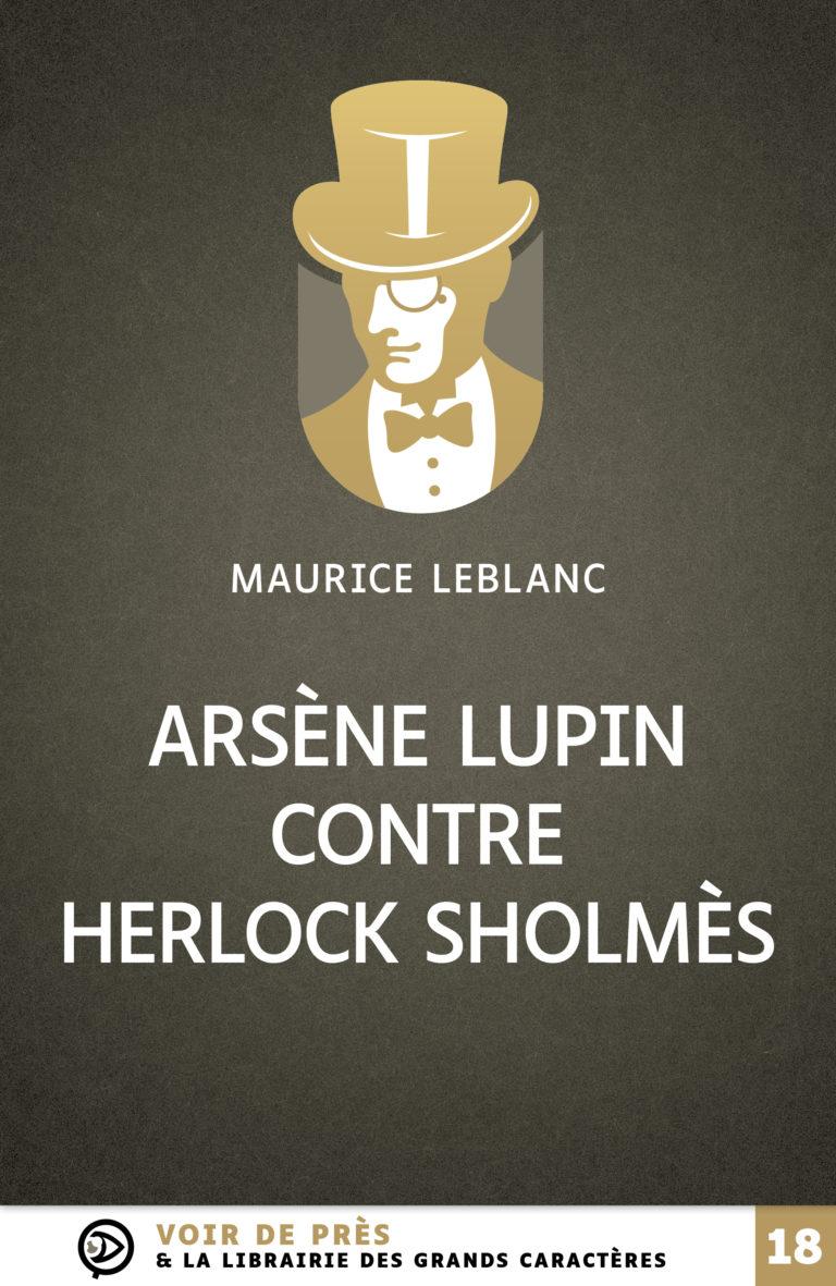 Couverture de l'ouvrage Arsène Lupin contre Herlock Sholmès