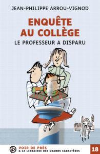 Couverture de l'ouvrage Enquête au collège