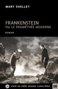 Couverture de l'ouvrage Frankenstein