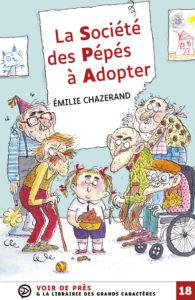 Couverture de l'ouvrage La Société des Pépés à Adopter