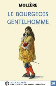 Couverture de l'ouvrage Le Bourgeois gentilhomme