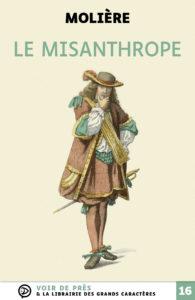 Couverture de l'ouvrage Le Misanthrope
