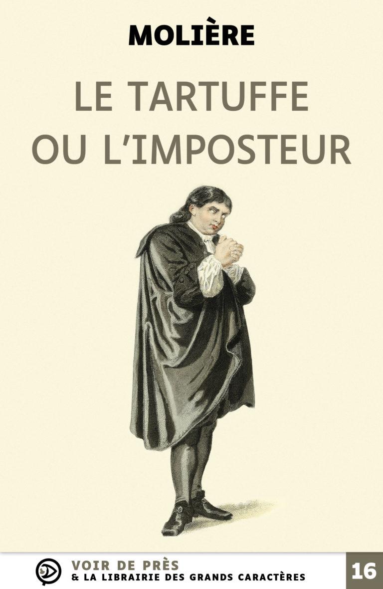 Couverture de l'ouvrage Le Tartuffe ou l'Imposteur