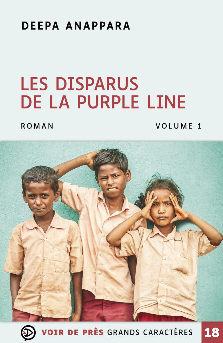 Couverture de l'ouvrage Les Disparus de la Purple Line
