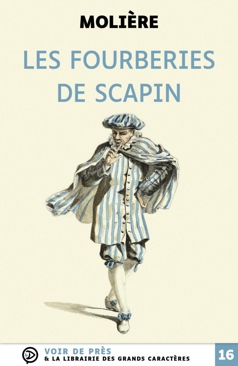 Couverture de l'ouvrage Les Fourberies de Scapin
