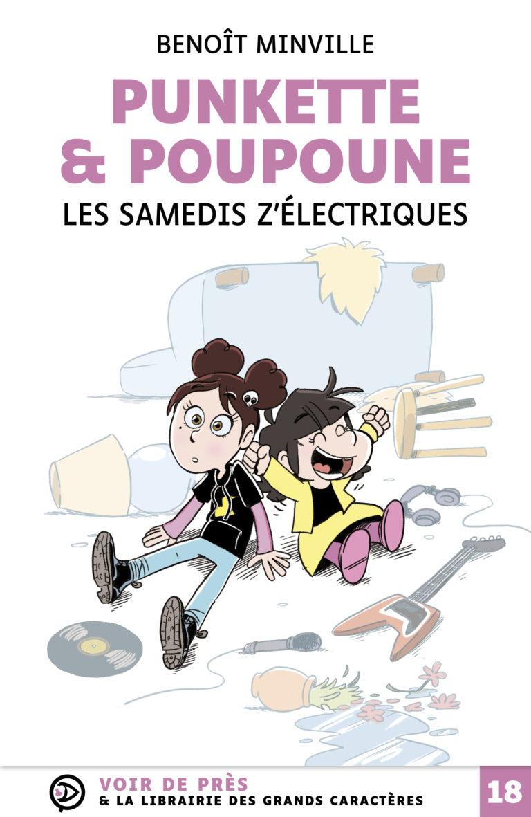 Couverture de l'ouvrage Punkette & Poupoune