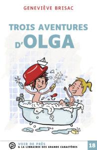Couverture de l'ouvrage Trois aventures d'Olga
