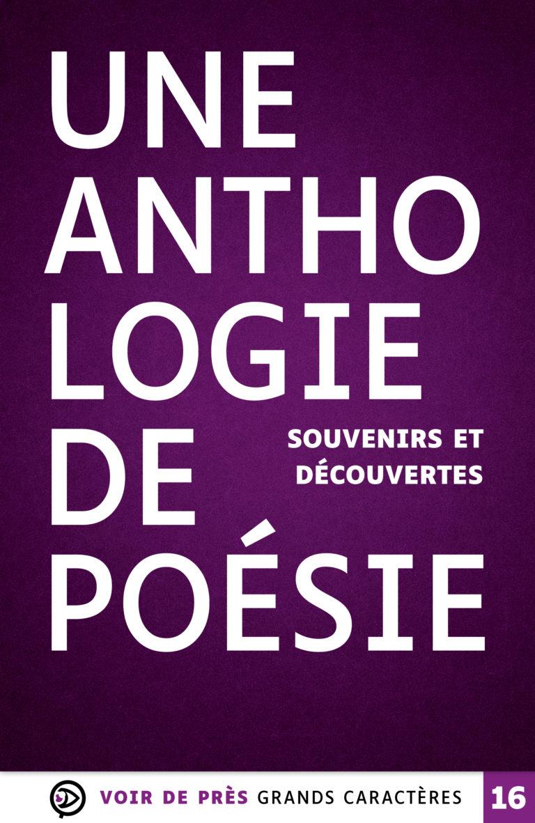 Couverture de l'ouvrage Une anthologie de poésie